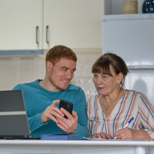 Browser Application benefits Aged Care  VCare